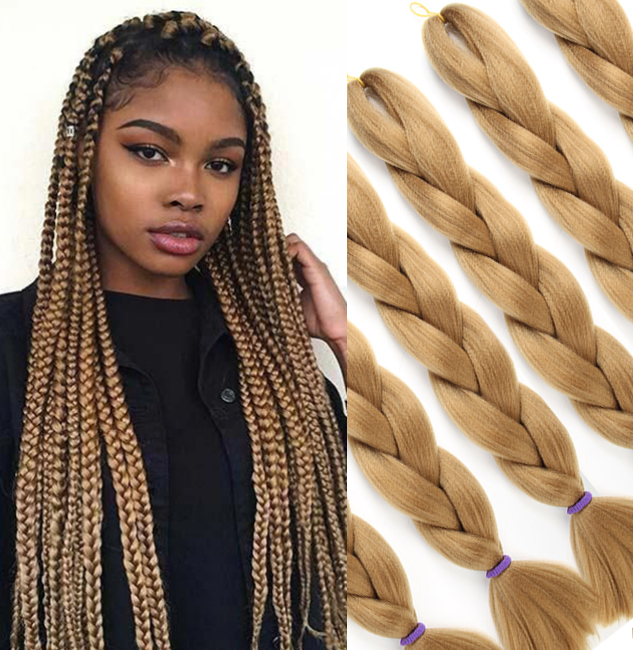 Honey Blonde Box Braids Kit Nh Beauty Supply These braids do not use the tight knot that is used in more traditional box braids. honey blonde box braids kit